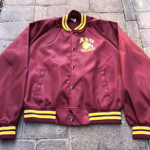 Vintage Arizona State Sun Devils Satin Jacket
